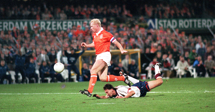 World Cup Qualifier Netherlands v England